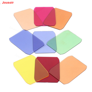 9 pieces of Color temperature Tablets sheet Maggels bright film Flash accessories lamp Accessory compatible Magmod CD50 T01