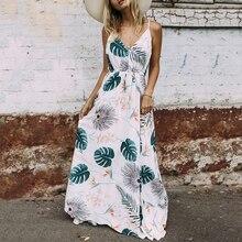 Długa Zwiewna Sukienka HIMELA