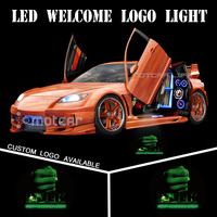 Universal Fit Car Door Courtesy Welcome Light Laser 3D Hulk GOBO Logo Light Welcome Ghost Shadow