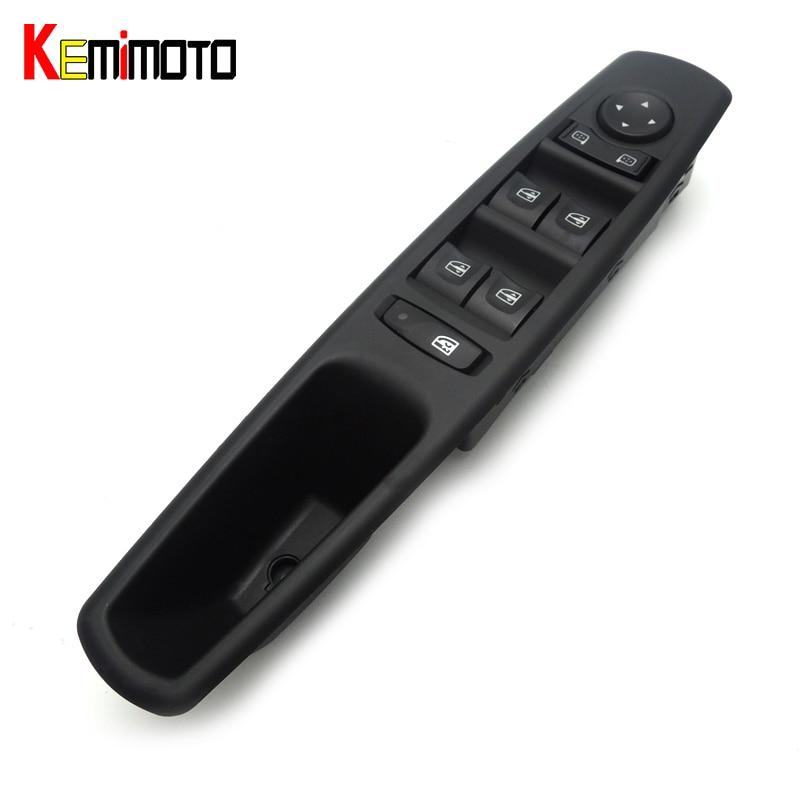 цена на KEMiMOTO 25400-0008R Window Switch For Renault Fluence L30 2010-2016 2013 2014 2015 254000008R