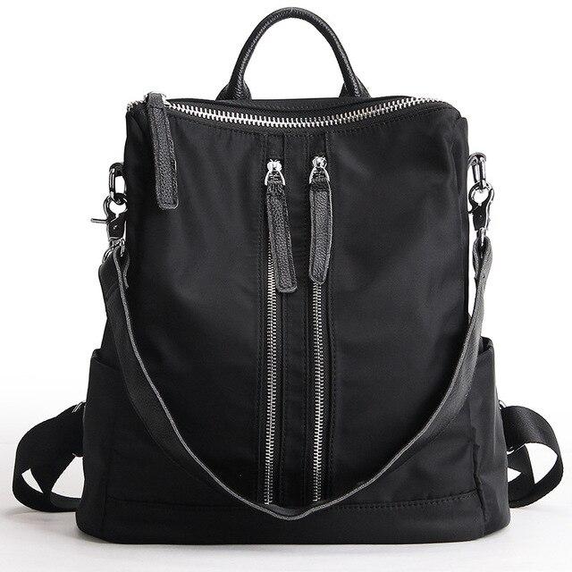 Новое Прибытие двойной ремень рюкзака женщин хлопчатобумажная ткань водонепроницаемый рюкзак небольшой рюкзак