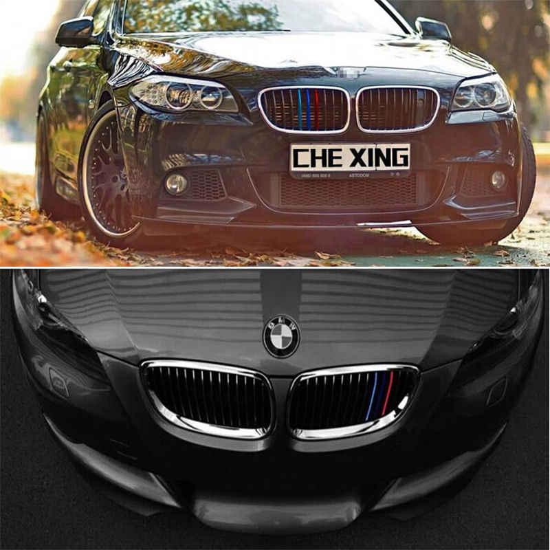 En gros Grille Bande De Vinyle Autocollant Pour BMW M3 M5 E36 E46 E60 E61 E90 E92