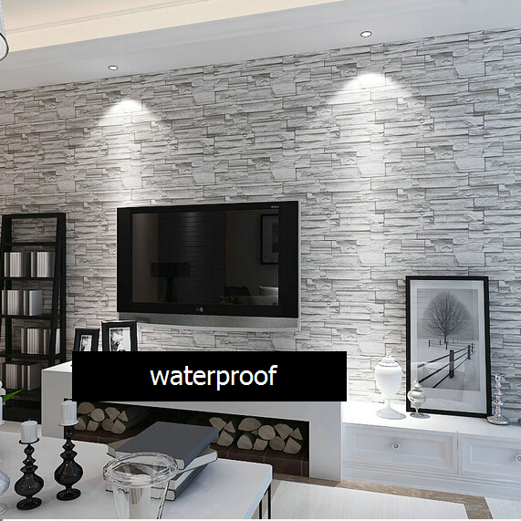 3d Peel And Stick Brick Wallpaper Online Buy Wholesale Stone Wall Design From China Stone