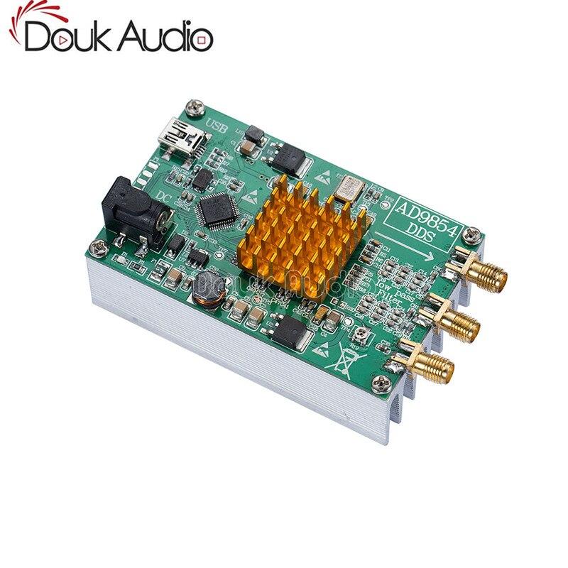 Douk Audio AD9854 DDS Signal Generator Module STM32 SCM / Heatsink /Master  Computer Control