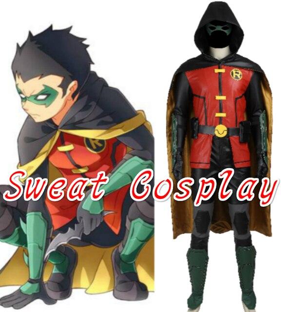 Adult batman and robin costume