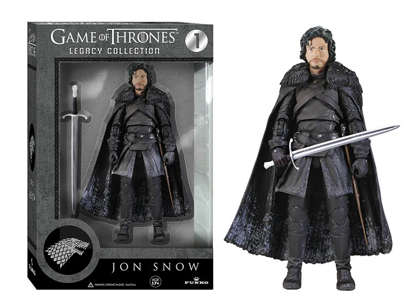 Official Funko Legacy Collection Action Figure 6'' TV: Game of Thrones - Jon Snow Collectible Model Toy In Box