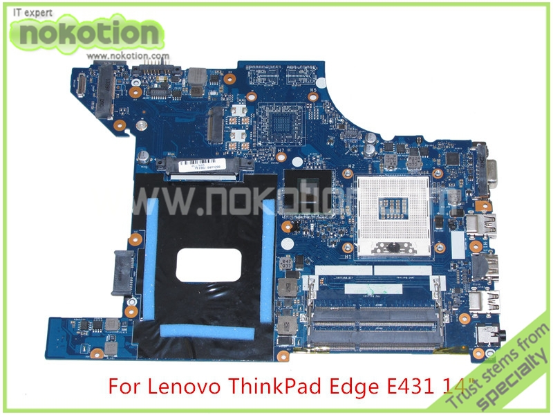 все цены на NOKOTION Mainboard VILE1 NM-A043 rev 1.0 for lenovo Edge E431 14'' Laptop motherboard FRU 04Y1290 Intel HM76 HD4000 graphics онлайн