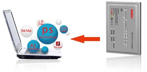 1.8 inch ZIF SSD -10