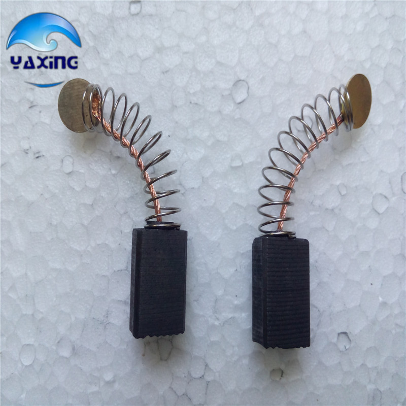 Carbon Brushes For Electric Motors  # 50 5x8x12mm  Fine  10 Pair 20pcs 5x10x19mm electric motor graphite carbon brushes springs