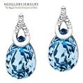 Neoglory  Austria Crystal Auden Rhinestone Earrings for Women Wedding Fashion Gifts 2017 New CLE QC2