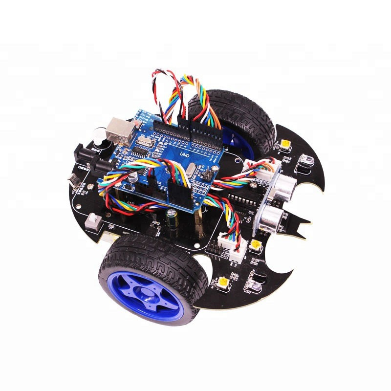 2018 DIY Learning Toys without Controller Board Smart Car Kit Arduino Robot Car Kit Wireless Control keyes kt0054 learning board tool kit for arduino nano white multicolored