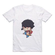 Cartoon Cute Luffy/Portgas D Ace/Zoro/Sabo/Sanji/Usopp Round Neck Street Mens T-shirt Anime Modal Summer Jacket