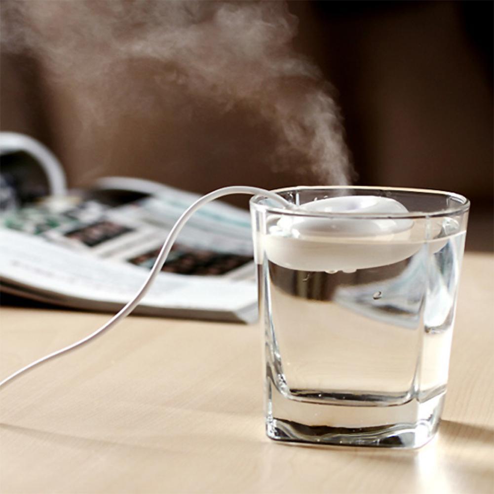 Adoolla Portable Donut Shape USB Humidifier Air Purifier Aroma Diffuser Ultrasonic Mist Maker Sprayer Oil Diffuser