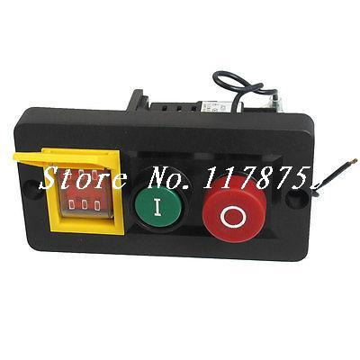все цены на Waterproof 3PDT Electromagnetic Switch 230VAC 8A/16A w DPDT Rocker Switch онлайн