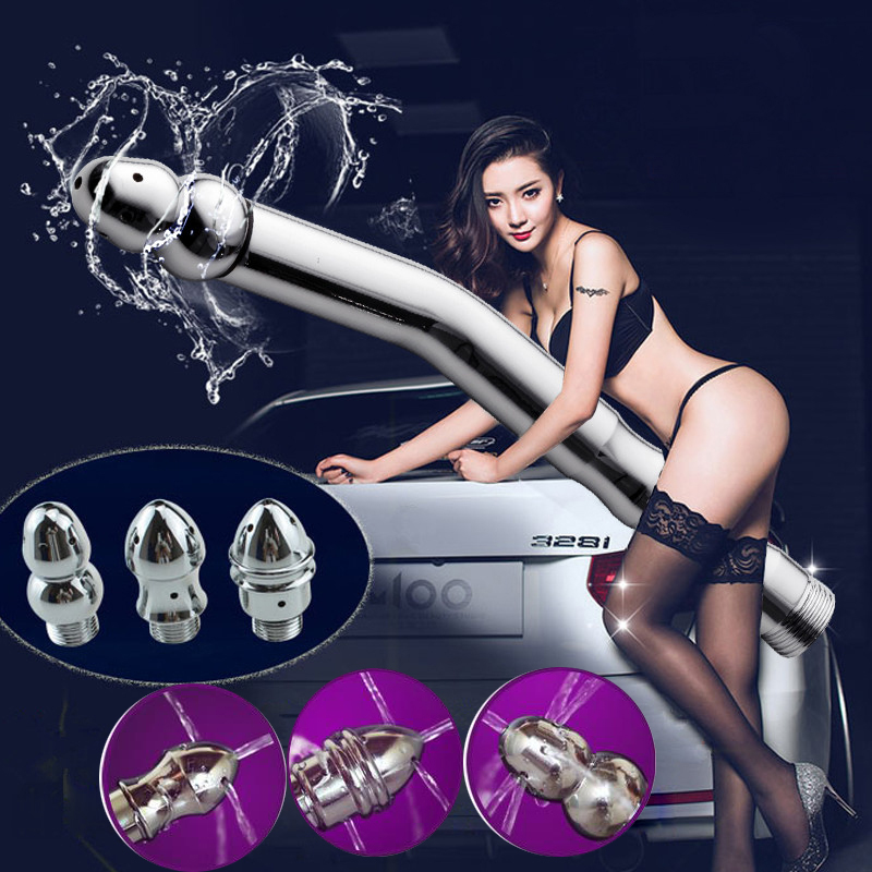 Modun Enema Shower Bidet Health Shower Portable Enema Douche System Cleaner Muslim Shower Toilet Vaginal Anus Anal Cleaner image