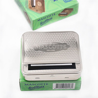 Metal Automatic Cigarette Rolling Machine Case For 70mm Papers Tobacco Roller Rolling Machine