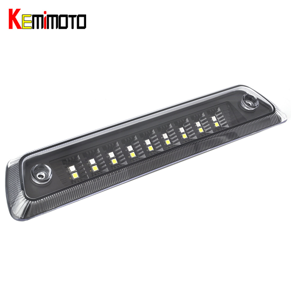 KEMiMOTO For Ford F150 LED Third Brake Light High Stop Roof Cargo Tail Lamp 3rd 2009 2011 2013 2014 partol black car roof rack cross bars roof luggage carrier cargo boxes bike rack 45kg 100lbs for honda pilot 2013 2014 2015