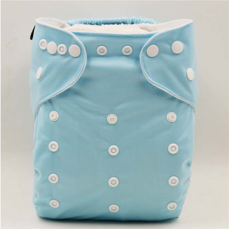Breathable Diapers For Children More Than 15 Kg, 3-6 Years Reusable Cloth Diaper, Size Adjustable Diaper Cover With Insert