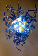 Free Shipping Hot Sale Blue Colored Flush Mount Ceiling Light