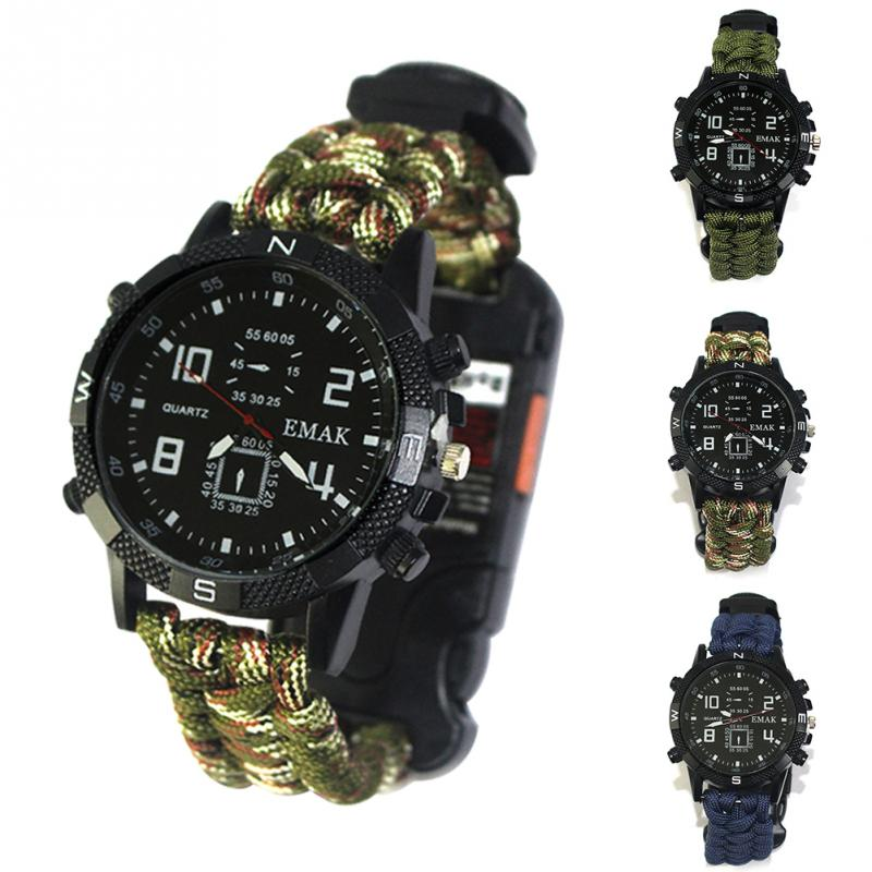 aeProduct.getSubject()  EDC Tactical multi Outside Tenting survival bracelet watch compass Rescue Rope paracord gear Instruments package HTB1NhrCFGmWBuNjy1Xaxh4CbXXaV