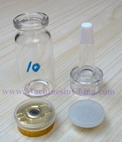 100pcs 10ml Control Glass Bottles With Cap
