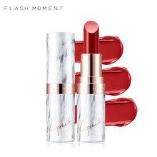 FLASHMOMENT Silky Red Lip Makeup 9 Colors Waterproof Moisturizer Marble Matte Lipstick Nude Velvet Stick Beauty makeup