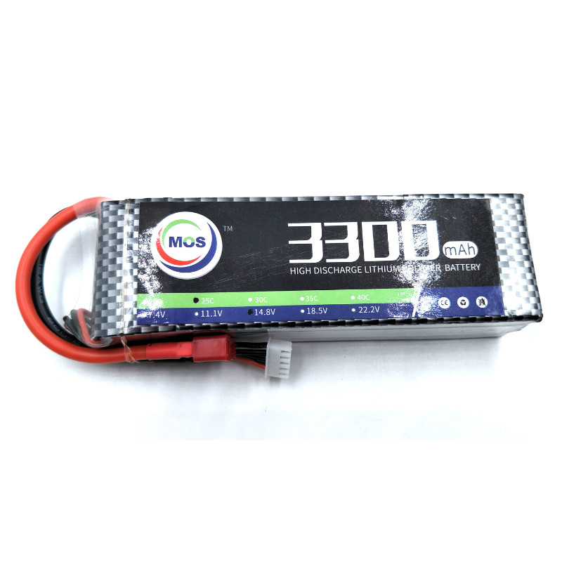 MOS 3S lipo battery 11.1v 3300mAh 25C For rc helicopter rc car rc boat quadcopter Li-Polymer battey