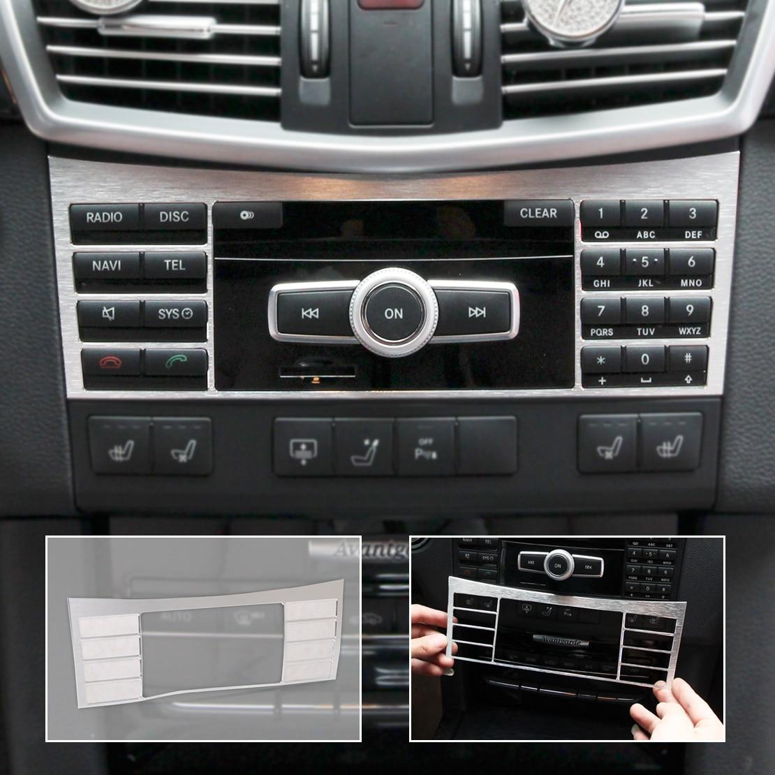 Beler Interior Console Central Botão Interruptor Do Painel Painel decorativo Guarnição Cobertura Para Mercedes Benz W212 Classe e 2010 2011 2012-2015