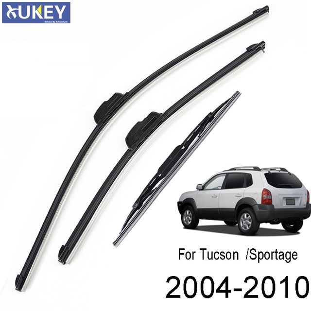 2006 tiburon se windshield wiper size