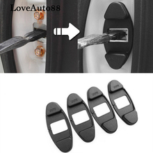 4pcs 3D ABS Door Stopper Protection Cover For Honda Civic Accord 2016 2017 Car Accessories