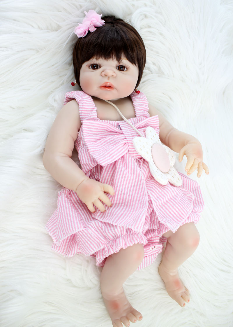 NPKCOLLECTION 22 Full Silicone Newborn Baby Lifelike Reborn Doll Baby Princess Waterproof Body Lovely Bebe Alive Boneca ToysNPKCOLLECTION 22 Full Silicone Newborn Baby Lifelike Reborn Doll Baby Princess Waterproof Body Lovely Bebe Alive Boneca Toys