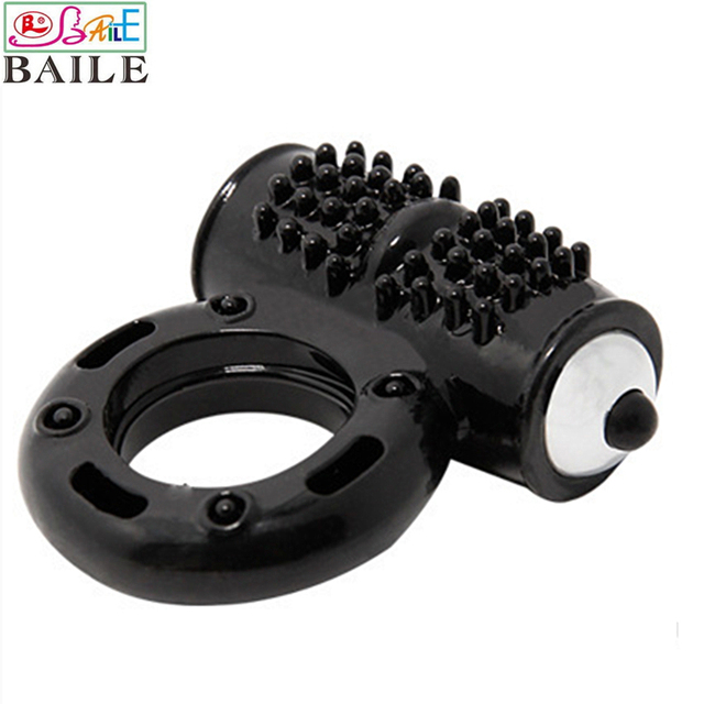 Baile Brand 10 Speeds TRP Penis Rings With Clitoris Stimulation Function and Lasting Effect Cock Ring, Sex Toys For Men
