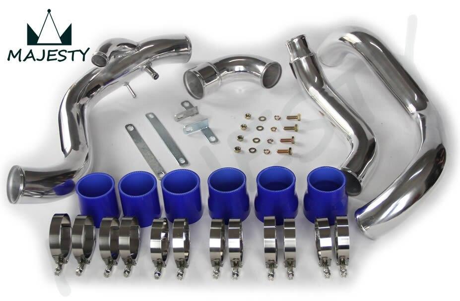 KIT de tuyauterie INTERCOOLER pour Nissan SILVIA 240SX S14 S15 SR20DET bleu