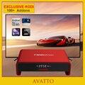 [Avatto] exclusiva kodi totalmente cargado t95u pro 2 gb/16 gb amlogic s912 android 6.0 smart tv caja octa-core, 5g-wifi, bt4.0, 4 k, h.265