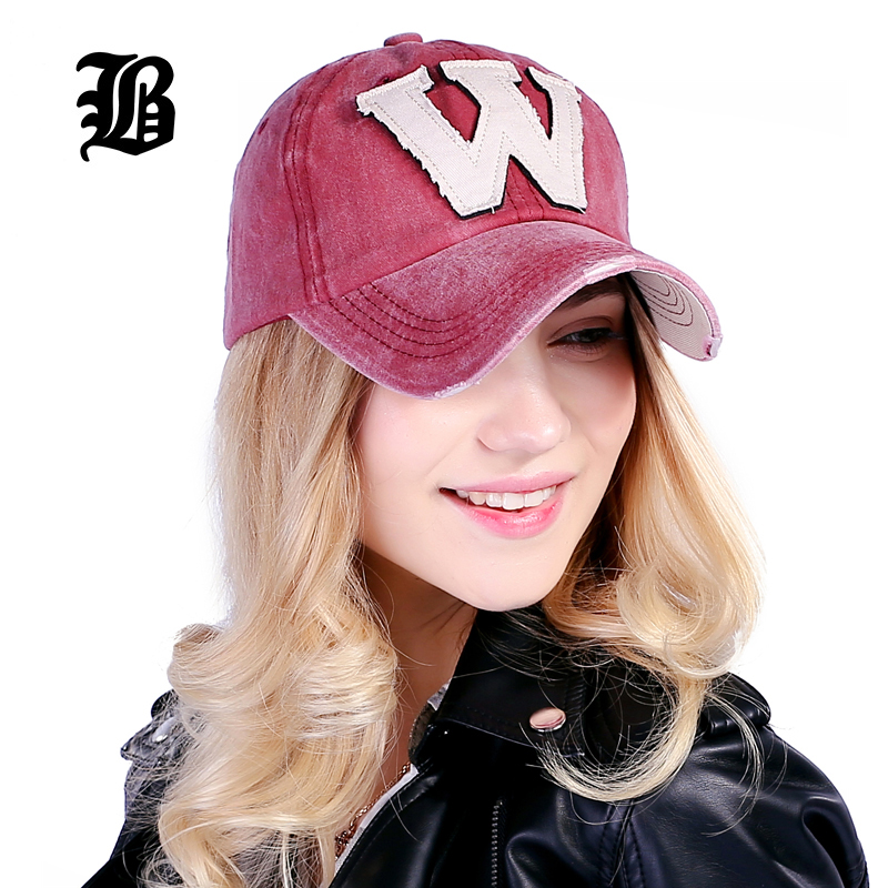 FLB-Cotton-Embroidery-Letter-W-Baseball-Cap-Snapback-Caps-Bone-casquette-Hat-Distressed-Wearing-Fitted-Hat-For-Men-Custom-Hats-1