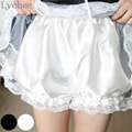 Japanese Style Lolita Cosplay Lace Pumpkin Bloomers Under Pants Safety Shorts for Women Girl