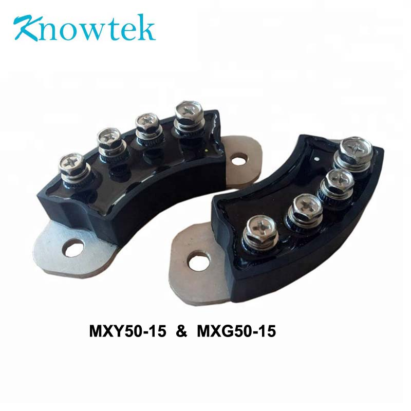 1 SET Diode Bridge Rectifier MXG50-15 with MXY50-15 Rotating Type For Generator 70mm insulation
