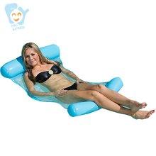 Надувной водяной гамак для взрослых ПВХ бассейн лапша надувной