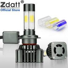 Zdatt H7 Led Canbus лампа авто 12000LM 100 Вт фары автомобиля свет 360 градусов освещения 3000 К 6000 К 8000 К 12 В автомобилей