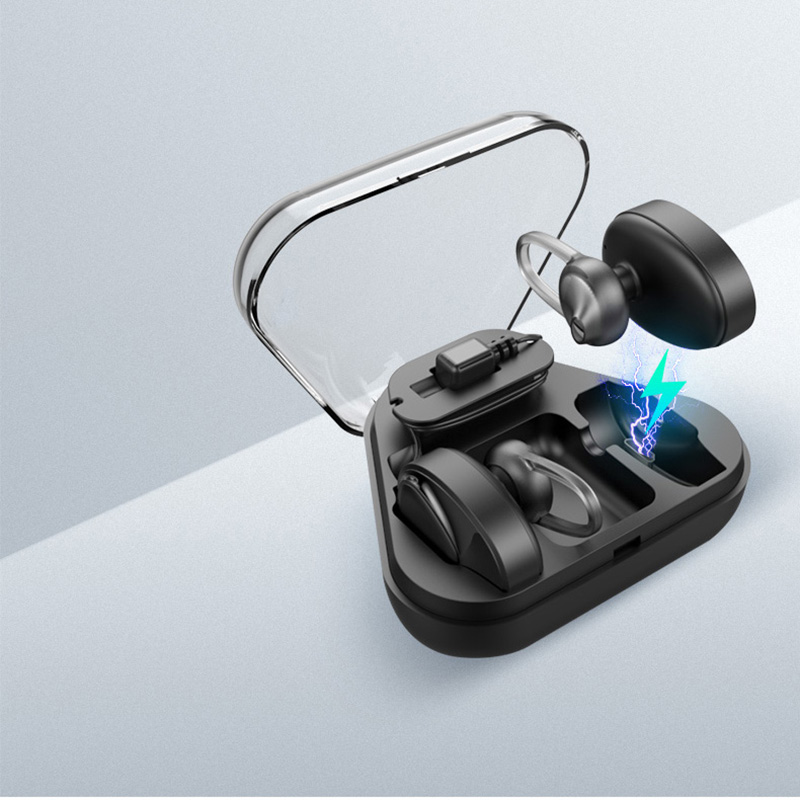 Wireless Earbuds Sport Earphones Headset V4.2 Mic Earpieces Stereo Charging Box