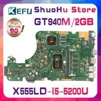 KEFU для ASUS W519L X555L A555L X555LD X555LP R556L R557L FL5900L X555LJ X555LN Материнские испытания 100% работы Оригинал материнская плата