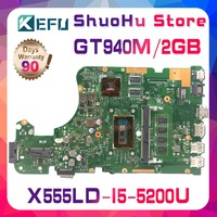 KEFU For ASUS W519L X555L A555L X555LD X555LP R556L R557L FL5900L X555LJ X555LN motherboard tested 100% work original mainboard