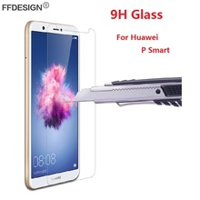 Protective Glass For Huawei P Smart Tempered Glass On Huawei P Smart Screen Protector Protective Film Foil Saver