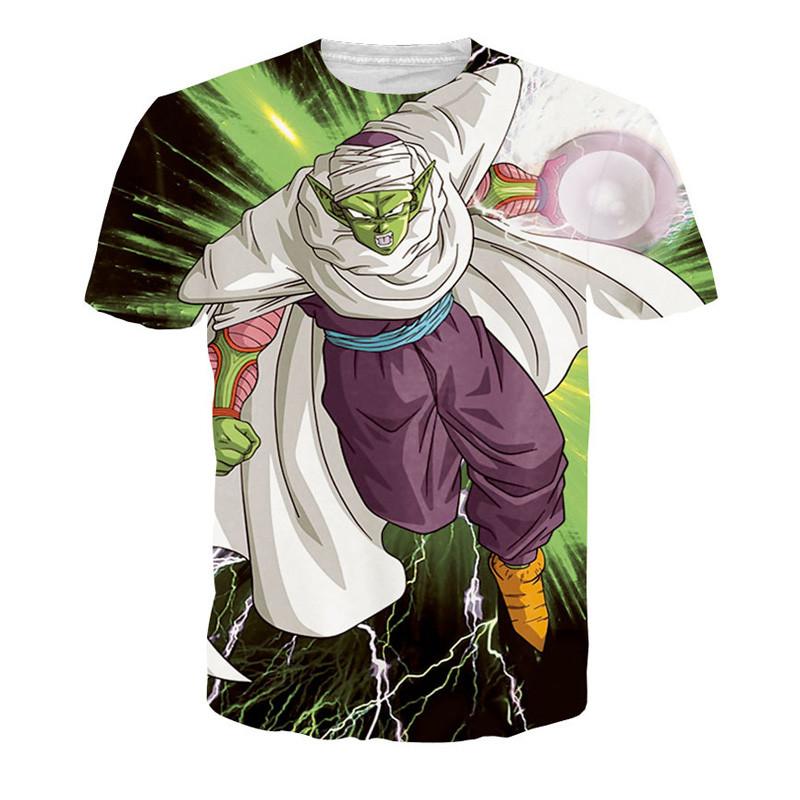Harajuku classic cartoon dragon ball t shirt super saiyan armour 3d t shirt men anime goku vegeta t shirts DBZ tees summer tops3