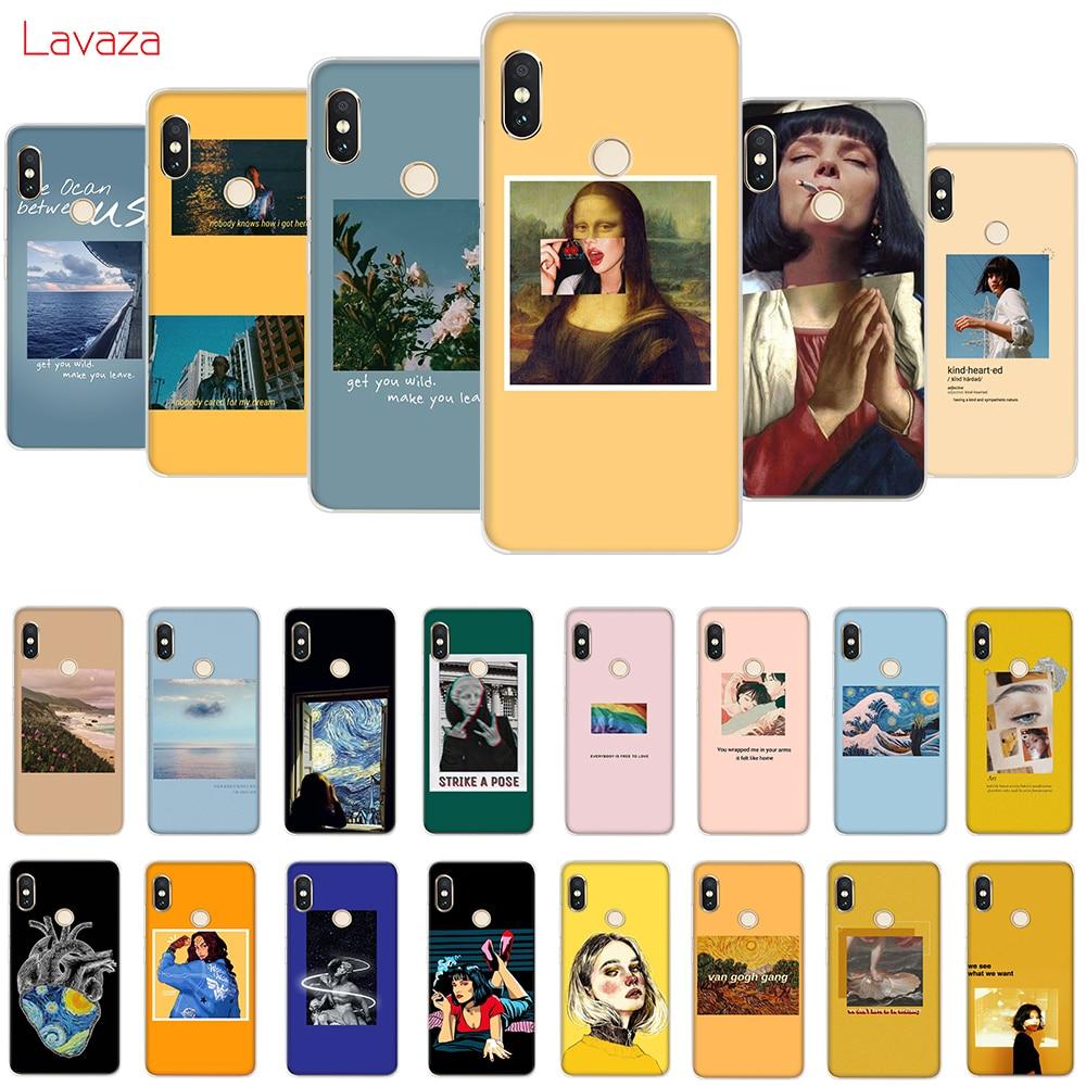 Lavaza Great art aesthetic van Gogh Mona Lisa Hard Cover for Huawei P30 Pro Lite Nova 3 3i Honor 8 9 10 7A Case