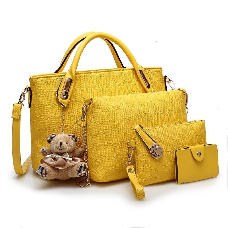 ახალი მოდის Crocodile Handbags PU - ჩანთები - ფოტო 5