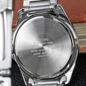 Image 3 - Casio 시계 남성 최고 브랜드 럭셔리 석영 watche 군사 50m 방수 남성 패션 시계 손목 시계 간단한 축광 시계 시계를 설정 relogio masculino reloj hombre erkek kol saati montre homme zegarek meski MTP 1370