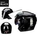 2016 Genuino casco de moto JieKai unisex Moto Capacete cascos de motos con doble lente