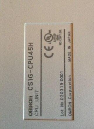 PLC CS1G-CPU45H CPU Unit  CS1W-SCB41-V1 Module