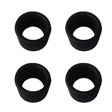 4 Pieces Rubber Boat Yacht Fishing Rod Holder Insert Protector for 50.8mm Tube Pole Rest Bracket Accessories